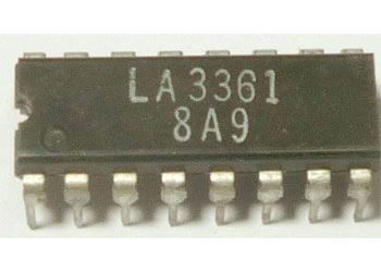 LA3361-FM stereo dekodér PLL