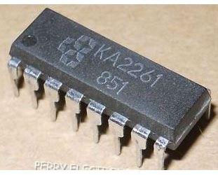 KA2261-stereo FM MPX dekodér