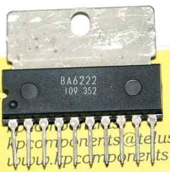 BA6222 - řízení motoru DC, SIP10