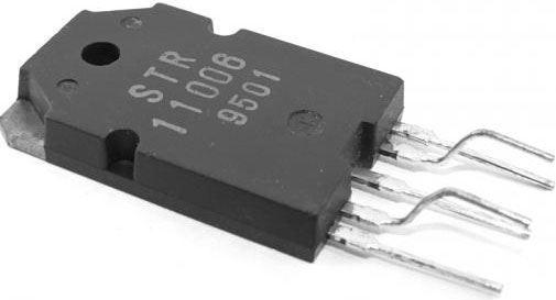 STR11006 - regulátor napětí pro TV, SOT93/5