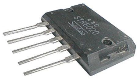 STR6020 - regulátor napětí pro TV