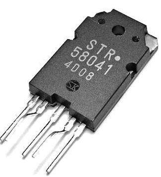 STR58041 - regulátor napětí pro TV