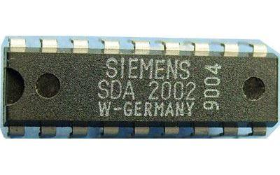 SDA2002 - PLL frekv.syntéza pro TV, DIP18