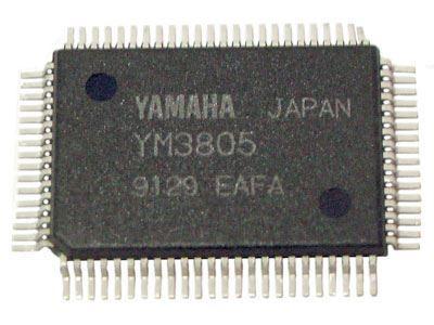 YM3805-signálový procesor pro CD YAMAHA