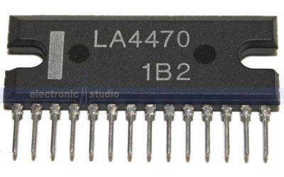 LA4470 - nf zesilovač 20W,Ucc=12V