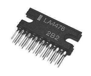 LA4476 - nf zesilovač 20W,Ucc=12V, SIP-14