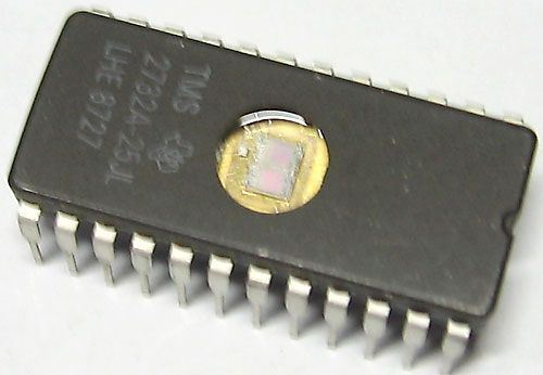2732A-250ns - EPROM 4k x 8bit, DIP24 /TI/