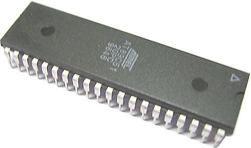 89C51-20PC, 8-bit. microcontroler, DIL40 /Atmel/