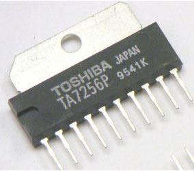 TA7256P - 2x výkonový OZ, SIL12