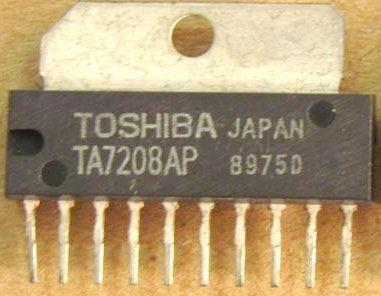 TA7208AP - SIP10