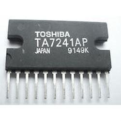 TA7241AP - nf zesilovač 2x5,8W, SIL12