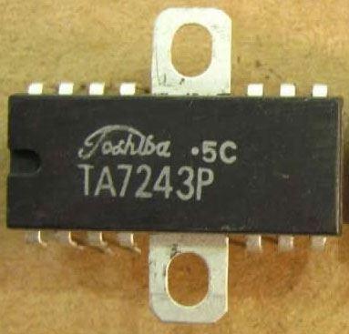 TA7243P - nf zesilovač 3W