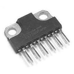 TA7280P - nf zesilovač 2x5,8W/4ohm, Ucc=13V, SIL12