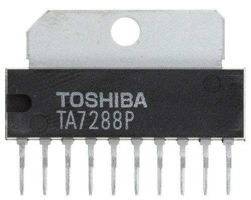 TA7288P - řízení DC motorů, SIP10
