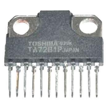 TA7281P - nf zesilovač 2x5,8W/4ohm, Ucc=13V, SQL12
