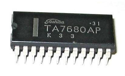 TA7680AP - obvod pro TV, DIL24