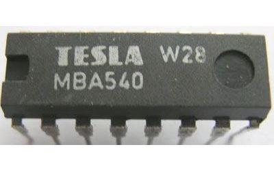 MBA540 - referenční obvod PAL, DIL16