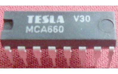 MCA660 - obvod pro BTV, DIP16