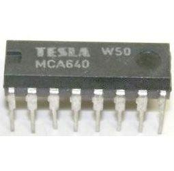 MCA640 - zesilovač barev pro BTV, DIP16