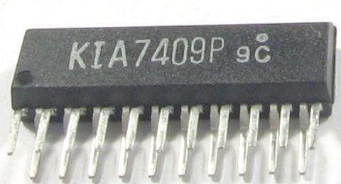 KIA7409P - 2x předzesilovač
