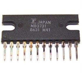MB3731 - nf zesilovač 18W, SIP-12