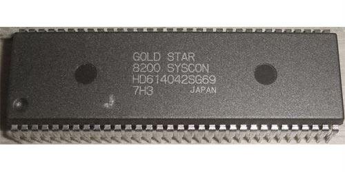 HD614042SE02 - 4bit mikroprocesor, SDIP64