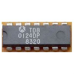 TDB0124DP - 4x OZ, DIP14