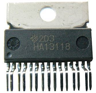 HA13118 - nf zesilovač 18W HITACHI, SP15