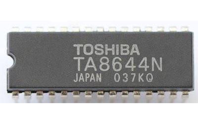TA8644N - obvod pro VHS, MDIL30
