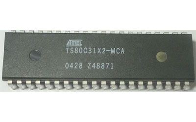 80C31 - 8bit.microcontroler, DIL40