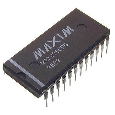 MAX235CPG - RS232 driver/receiver, DIL24