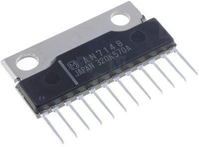 AN7148 - nf zesilovač 2x2,1W, SIP12