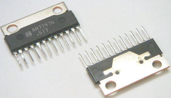 AN7149N - nf zesilovač 2x5,3W, SIP12H