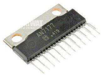AN7177 - nf zesilovač 2x18W, SIP23