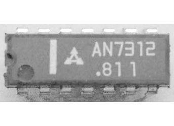 AN7312 - předzesilovač pro mgf, DIP16