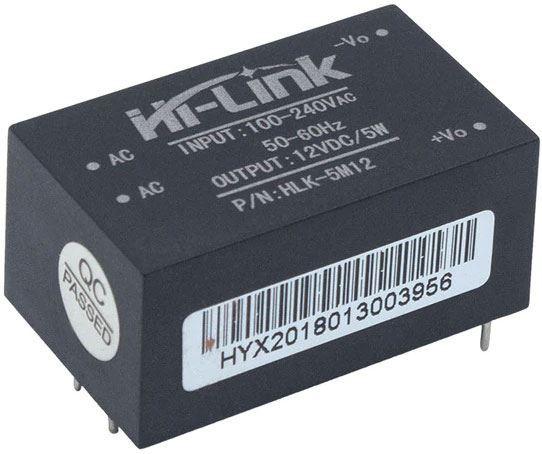 Spínaný zdroj Hi-Link HLK-5M12 12V/0,42A