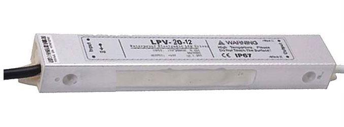 Zdroj-LED driver 12VDC/20W LPV20-12, CARSPA
