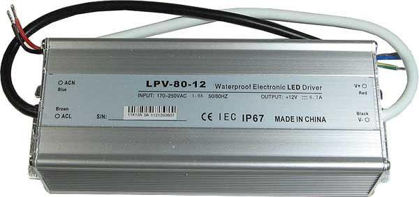 Zdroj - LED driver 12VDC/80W CARSPA LPV80-12