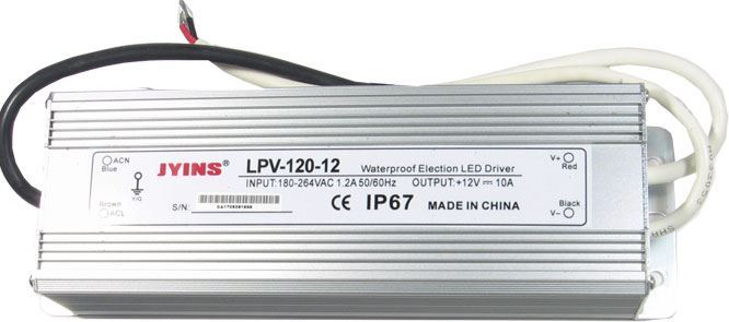 Zdroj - LED driver Jyins LPV-120-12, 12VDC/120W