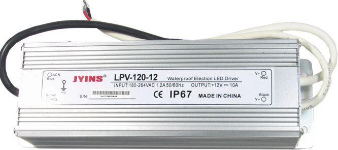 Zdroj - LED driver 12V DC/120W LPV-120-12, použitý, nefunkční