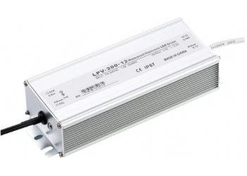Zdroj-LED driver 12VDC/200W LPV200-12, CARSPA