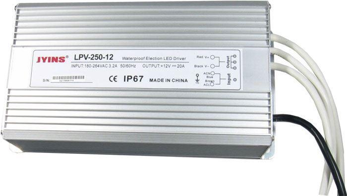 Zdroj-LED driver 12VDC/250W LPV250-12, JYINS