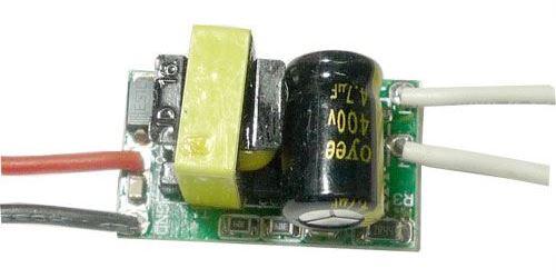 Zdroj- LED driver L0301N 3W, 9-11V/250mA pro 3LED 1W