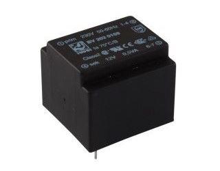 Trafo DPS 0,5VA 1x12V(42mA)  21,7x22,6x19  HAHN
