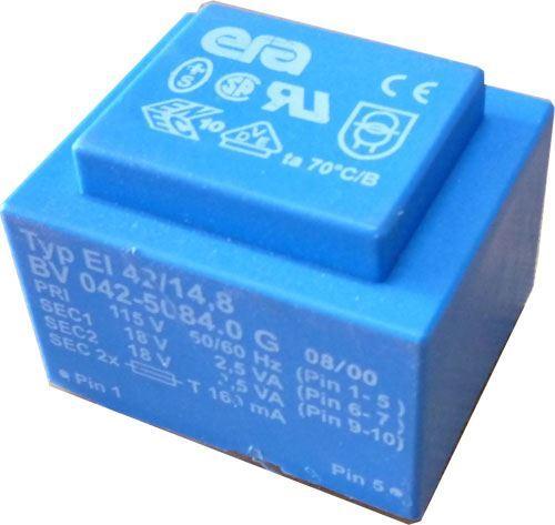 Trafo DPS 5VA 115V/2x18V ERA BV042-5084.0G