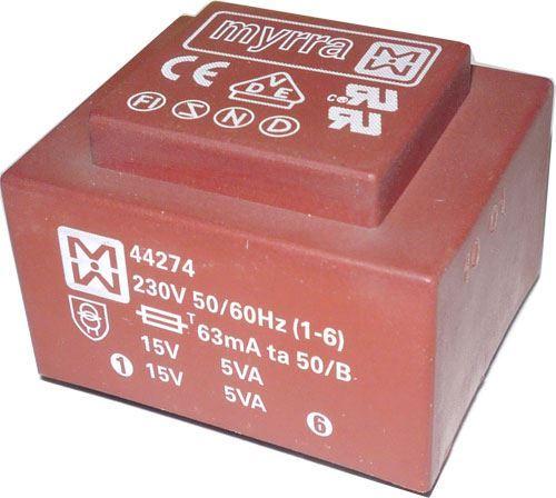 Trafo DPS 10VA 24V MYRRA 44270