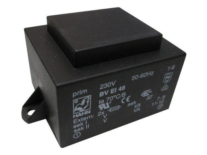Trafo DPS 22VA 12V HAHN EU6011046