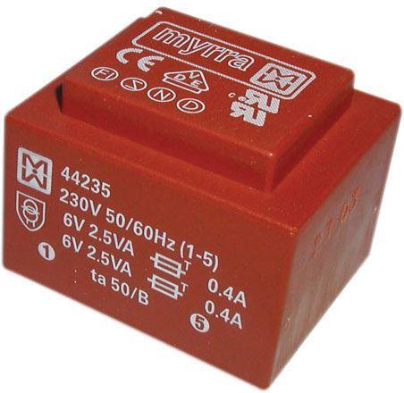Trafo DPS 5VA 2x6V MYRRA 44235