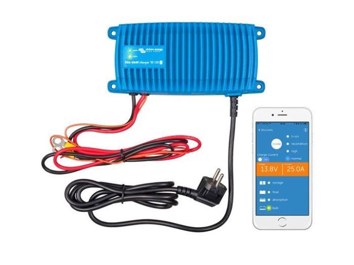 Nabíječka baterií BlueSmart 12V/25A IP67, vodotěsná