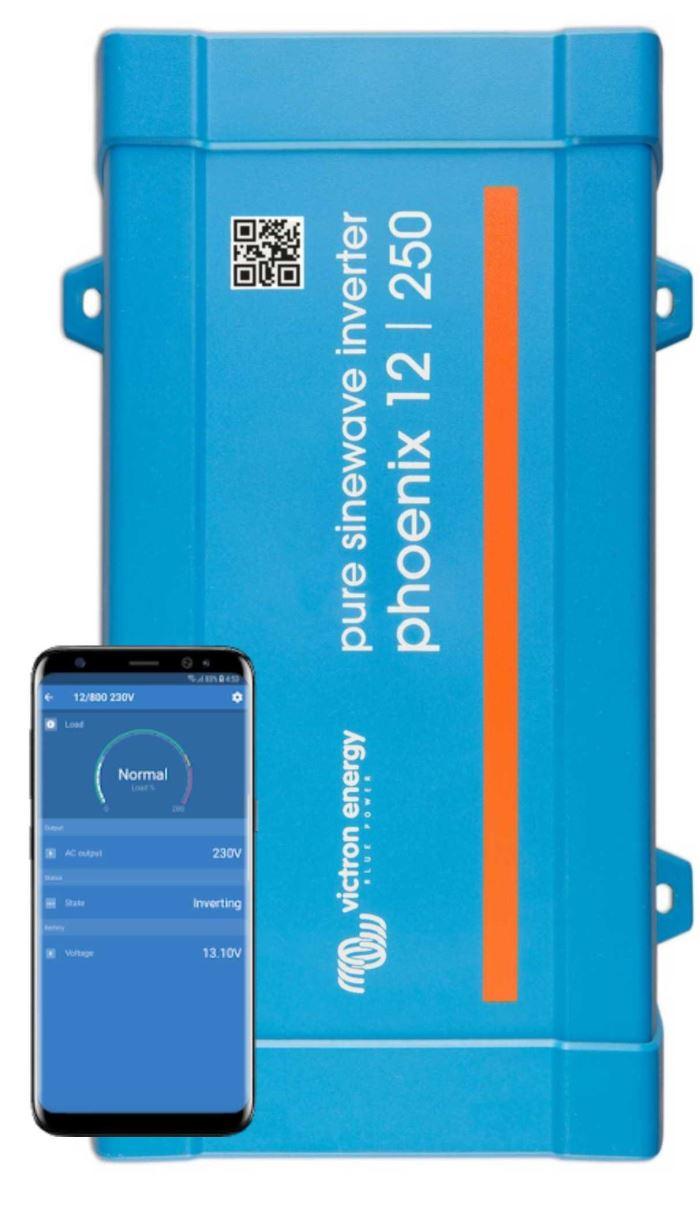 Měnič napětí SINUS Victron Energy Phoenix VE.Direct 250VA 12V
